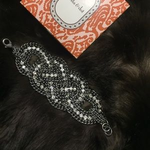 Stella & Dot Petra Braided Bracelet